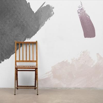 Фотообои эскиз художника в пастельных тонах  Узоры на Стене