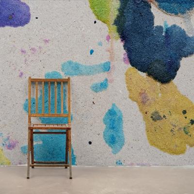 Уютные фотообои с мазками акварели для творческих людей  Узоры на Стене