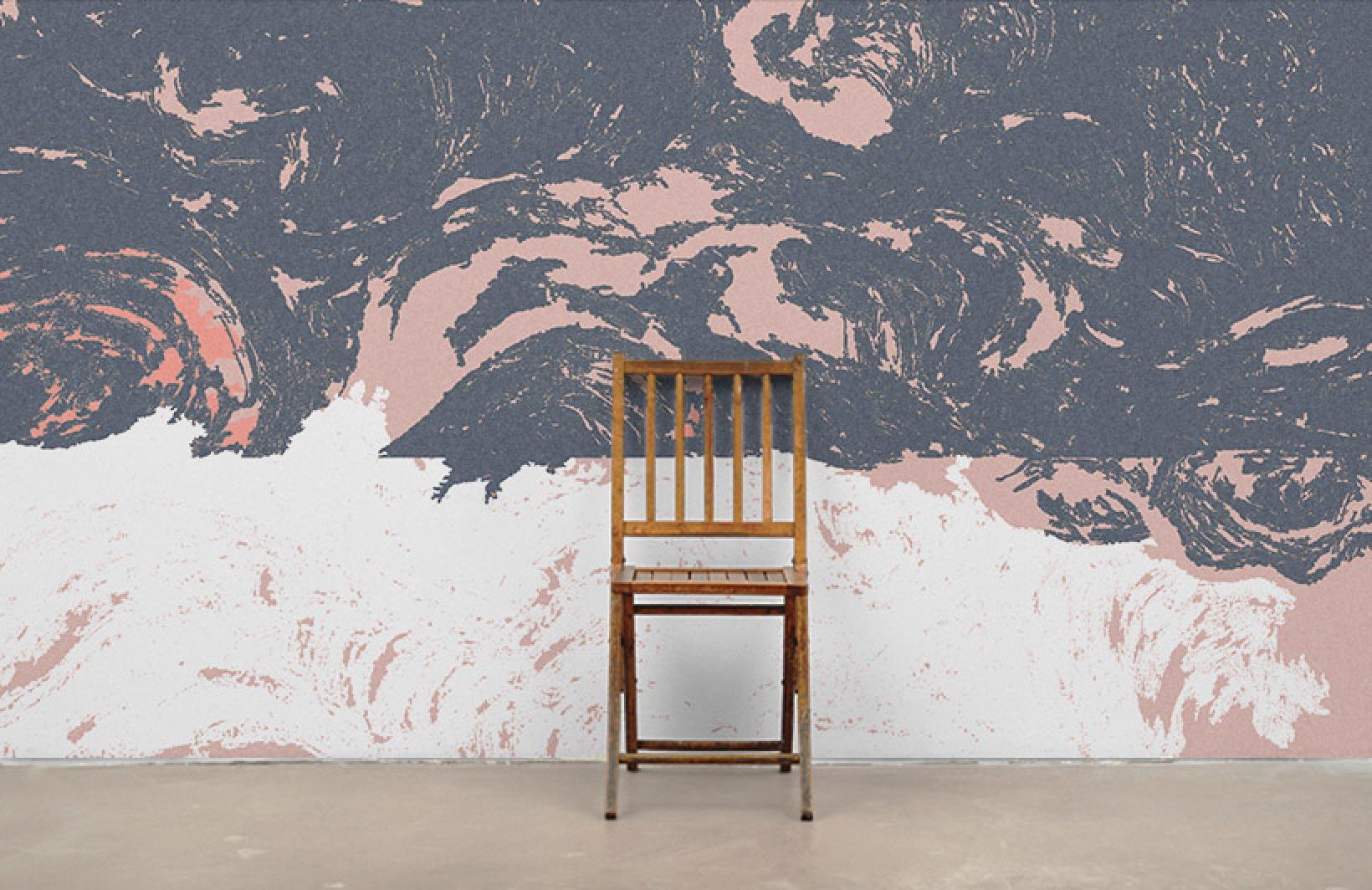 Редкие фотообои в серых и розовых тонах для уникальных интерьеров Узоры на Стене