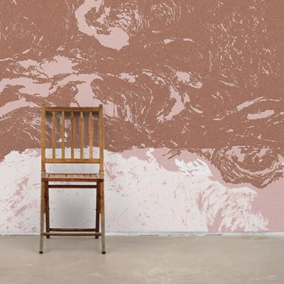 Абстрактные фотообои в бежевых и коричневых тонах  Узоры на Стене
