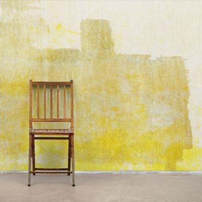 Фотообои с желтыми стенами лофта  Узоры на Стене