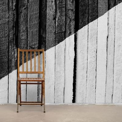 Черно белые фотообои на стену в индустриальном стиле  Узоры на Стене