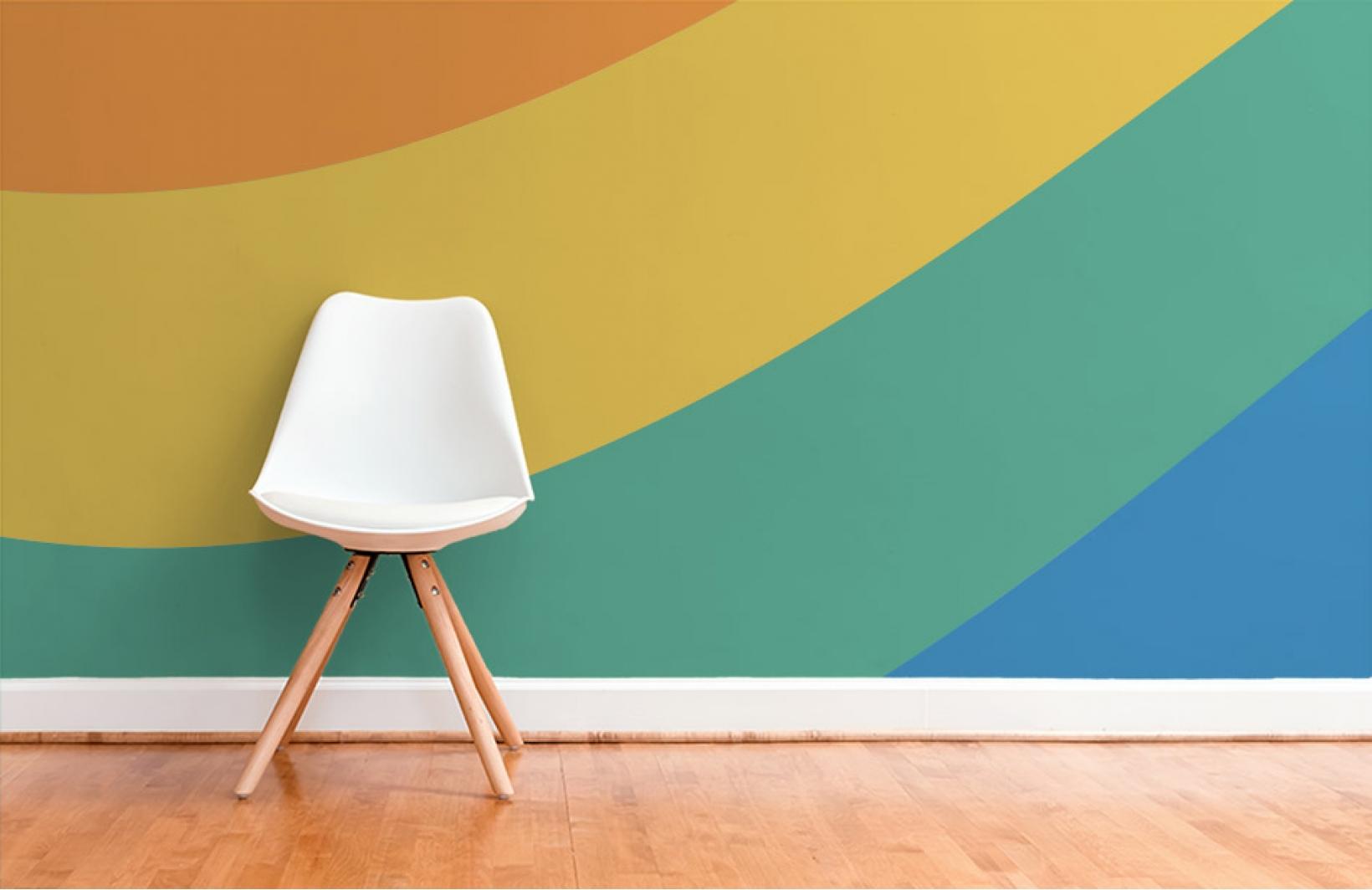Яркие фотообои для детской комнаты Узоры на Стене