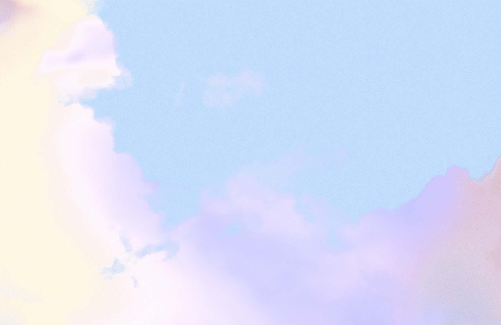 Воздушные фото с загадочным небом Узоры на Стене