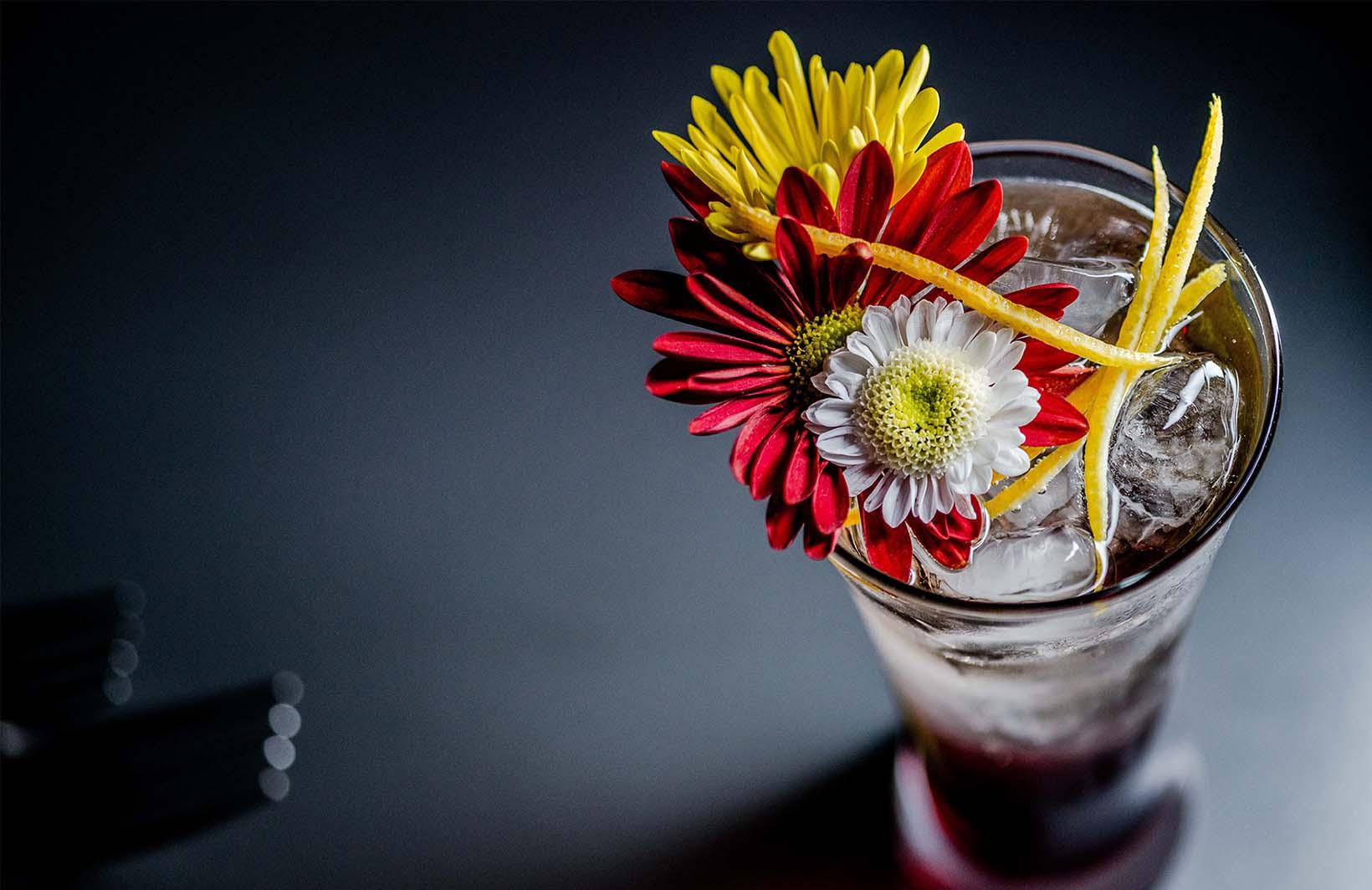 Освежающие фотообои с витаминным напитком на маленькую кухню Узоры на Стене
