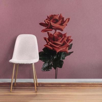 Элегантные фотообои с розами на стену в гостиной  Узоры на Стене